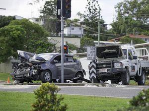 Woman treated for shock after Dawson Hwy crash