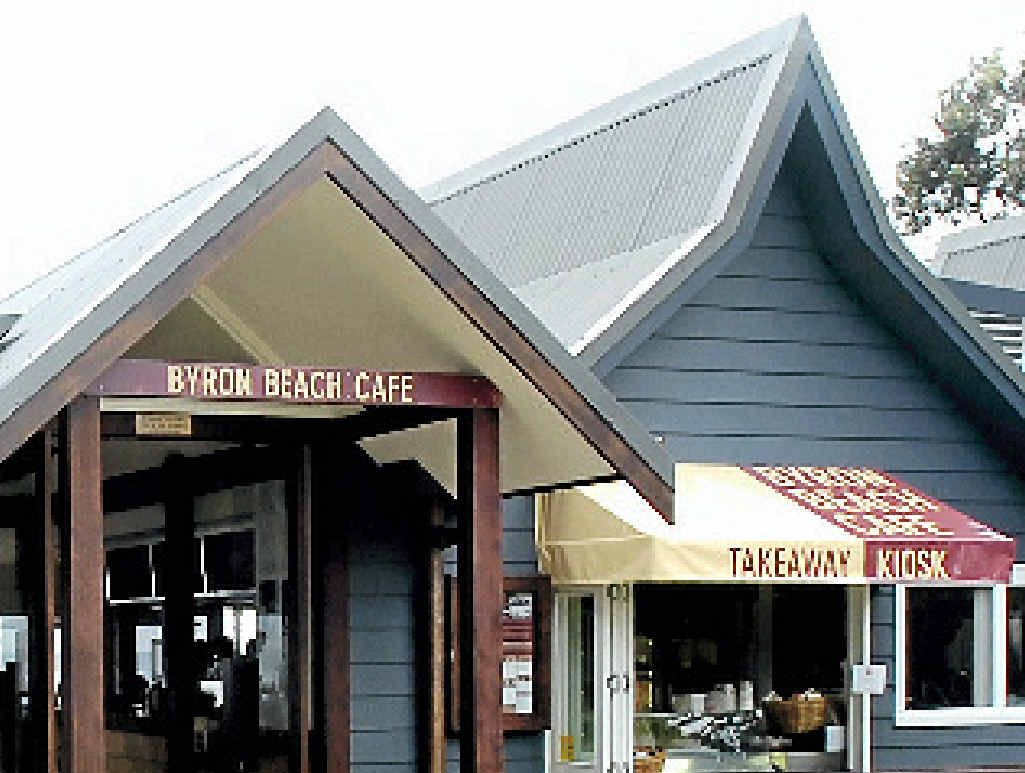 BYRON BEACH CAFE: Champion Cafe at Small Business awards.