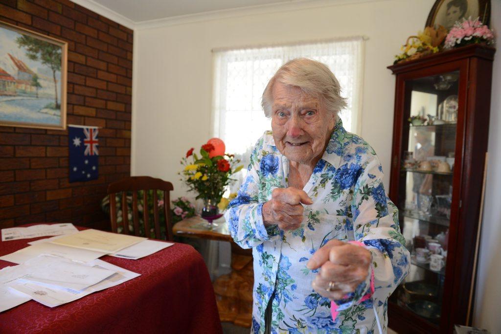 Marjorie Elizabeth Lucy Bostock turned 105 on April 2.