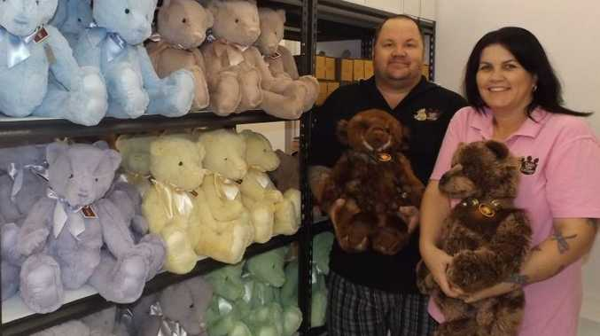 Maryborough couple Michael and Valerie Walker have opened up Teddy Bear Cottage in Maryborough's CBD.