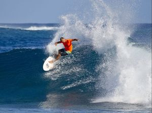 Byron Bay surfer claims major title in French Polynesia
