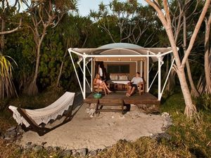 Top five 'glamping' spots near Rockhampton