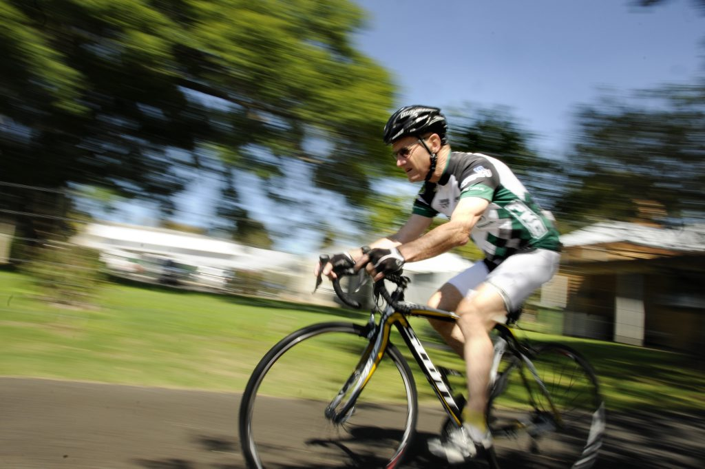 Cyclist John Osborne says motorists have started to show more respect for cyclists.