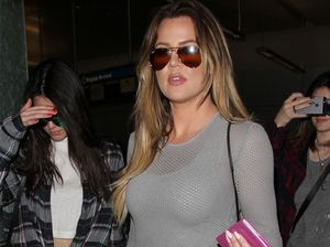 Khloe Kardashian house hunts with rapper
