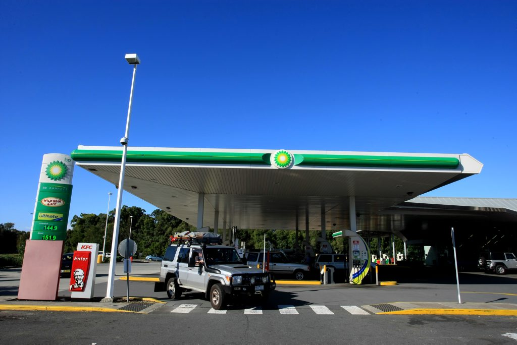 BP on the Pacific Hwy in Chinderah. Photo: John Gass / Daily News