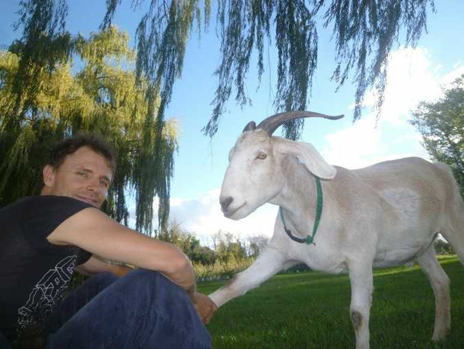 Jimbo and his pal Gary the Goat will be turning heads at The Grand Hotel on Thursday.