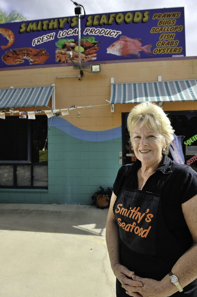 Brenda's beloved seafood store is currently up for grabs.