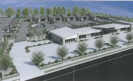 An image of the proposed unit and commercial development at Toogoom.
