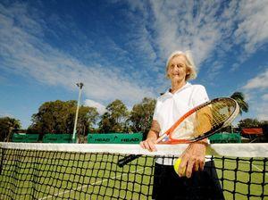Margaret, 83, leading Aussie tennis team to overseas comp