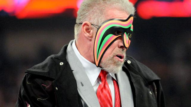 The Ultimate Warrior.