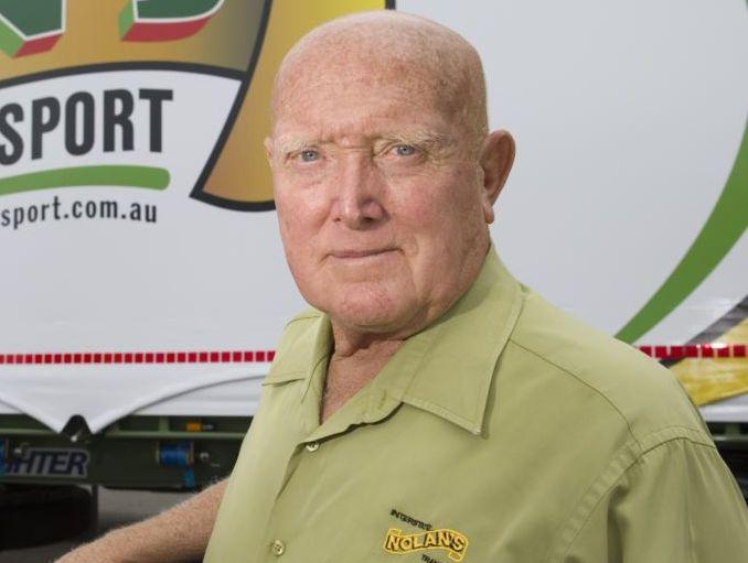 Nolan's Transport boss Terry Nolan has died.