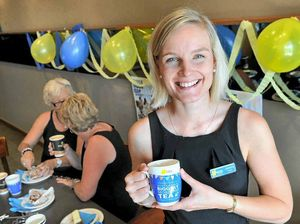 Biggest Morning Tea fundraiser launched for Gladstone