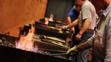 Enjoy the satisfaction of making your own unique hand crafted decorative wall feature at one of Cobb+Co Museum's Blacksmithing Three Day Project Workshops.
