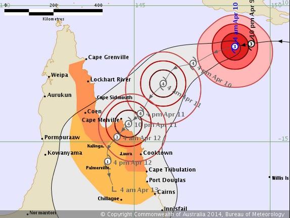 Cyclone Ita.