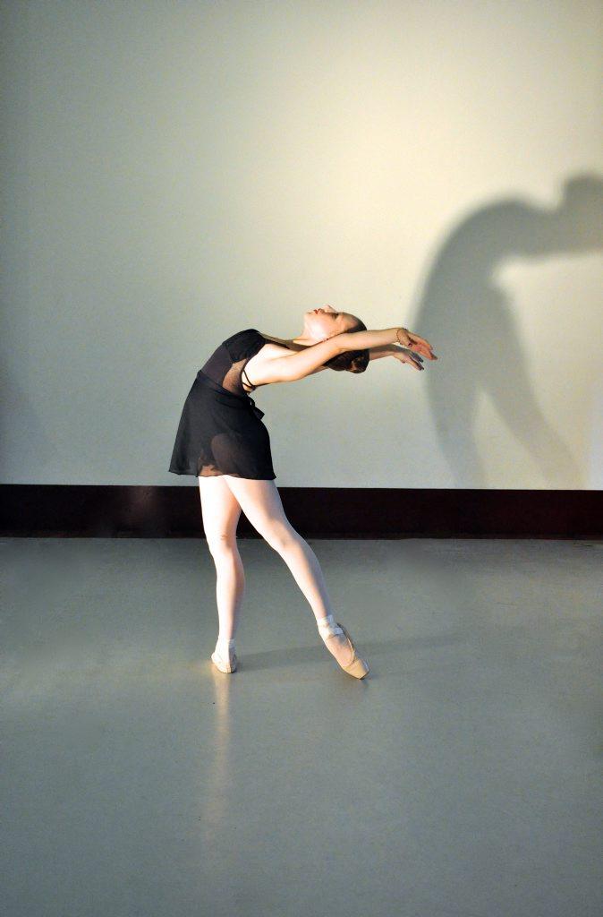 Queensland National Ballet student Madison Wieland.