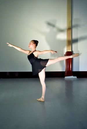 Queensland National Ballet student Madison Wieland. Photo Contributed