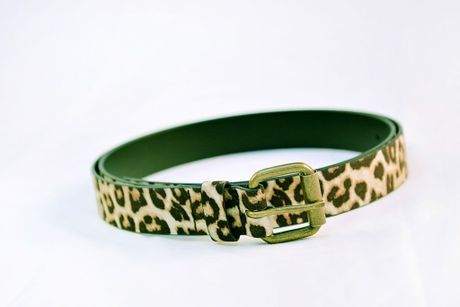 Leopard Belt Duo $29.95, available from Just Jeans in Stockland Gladstone. Photo contributed: Strong Images Photography for Stockland Gladstone