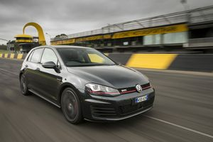 The VW Golf GTI Performance.