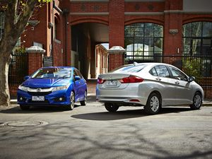 2014 Honda City and Honda Civic Hatch upgraded