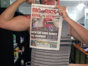 Big Rigs Selfie Competition