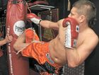 Former Mackay fighter Andrew Keogh will fight for the World Muay Thai Council super-middleweight title in Townsville tonight.