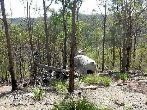 HISTORY LESSON: Crash site of Beautiful Betsy in Kroombit Tops National Park.