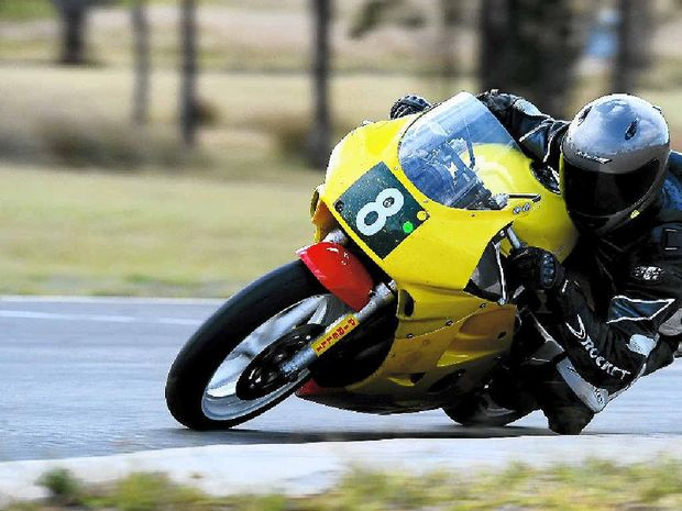 Motorcycle Sportsmen of Queensland vice-president Simon Dickson will be among 90 riders at the Pirelli Southern Downs Road Race Series and Queensland Road Race Championships at Morgan Park over the weekend.