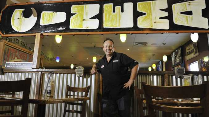 Hog's Breath Cafe owner Alex Staines is pleased to finally be open for business.
