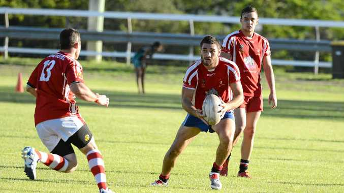 STAYING HOME: South Grafton Rebels will host Woolgoolga Seahorses tomorrow from 12pm. Photo: Debrah Novak