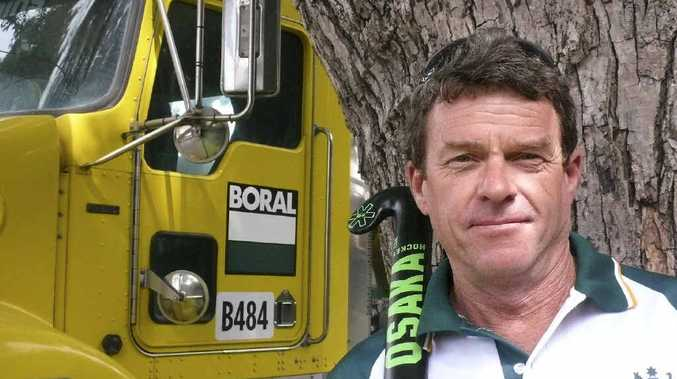 NATIONAL REP: Concrete truck driver and Grafton Over-50s midfielder Michael Russ is off to the Netherlands.
