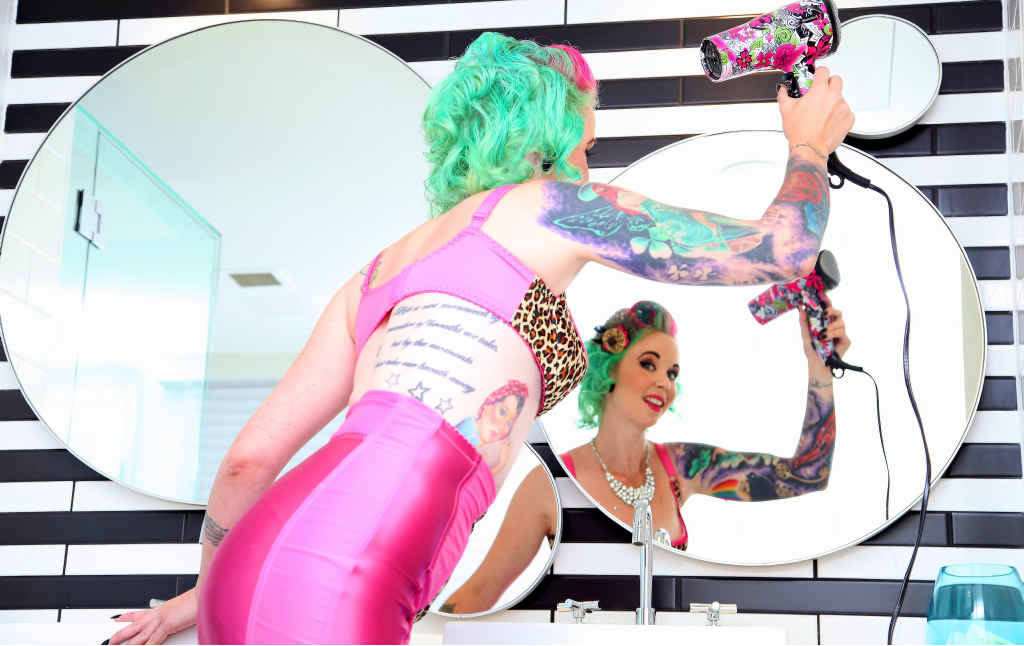 Alicia Taylor reflects on her alter-ego Miss Scarlet Tinkabelle.