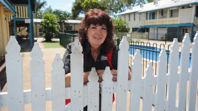 Tina Embrey (Dir. Mgr. Bayside Transformations) at the complex on Torquay Rd.