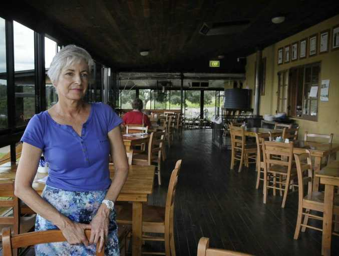 Preston Peak Winery Owner Kym Thumpkin says the business will close the cafe operation this month. The cellar door for wine tasting will continue to operate.