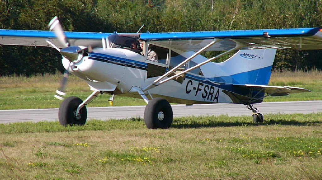 FOUR-SEATER: A Maule M-5, similar to the plane that crashed.