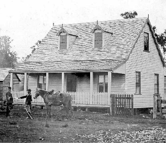 Lismore Police Barracks, c.1880s