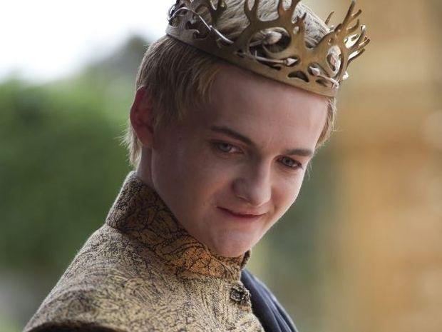Jack Gleeson as Joffrey Baratheon in Game of Thrones.