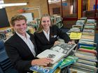 ROYAL RECEPTION: Toormina High School Captains Blake Greenaway and laura Devoy will travel to Sydney to attend the reception for the Duke and Duchess of Cambridge. Photo: Trevor Veale/Coffs Coast Advocate