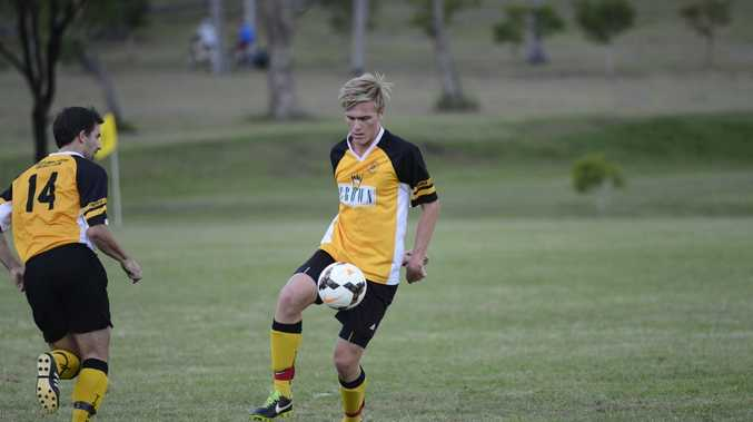BEATEN: Westlawn Tigers lost 4-1 to Urunga Raiders in their North Coast Football match on Saturday.