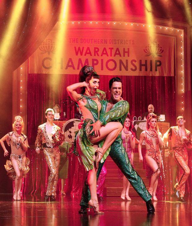 Oscar-winner Catherine Martin's dazzling costumes in Strictly Ballroom.