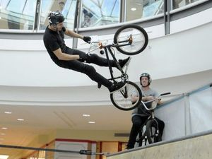 VIDEO: Extreme BMX takes over Grand Central