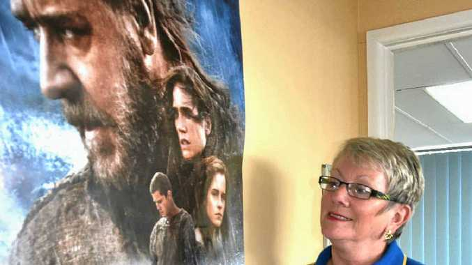 TWO BY TWO: Rotary member Yve Stocks invites Warwick to come in pairs, or more, to Warwick's charity premiere of Noah starring Russell Crowe.