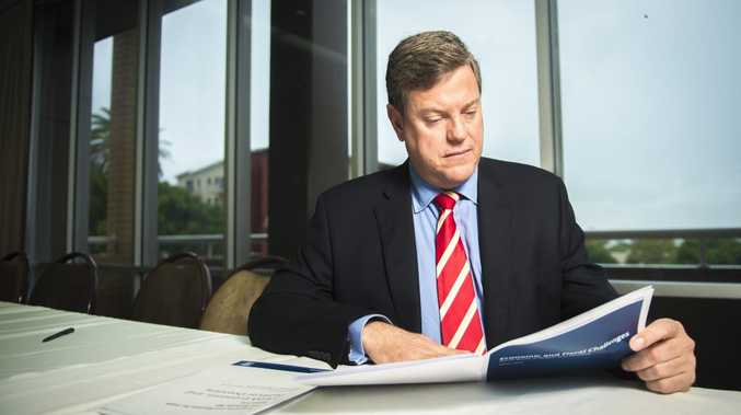 Queensland Treasurer and Minister for Trade Tim Nicholls