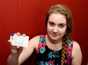 Tiana propels suicide alert with small cards of seven signs