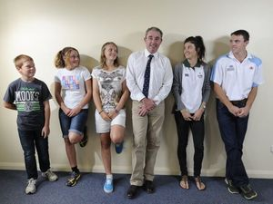Young athletes receive funding boost to further their efforts