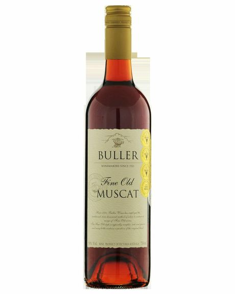 Bottle of Buller Fine Old Muscat.