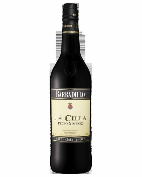 Bottle of Barbadillo La Cilla Pedro Ximenez.