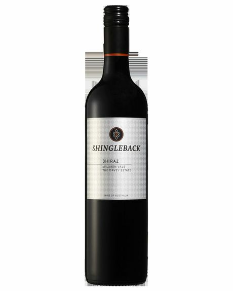 Bottle of Shingleback Davey Estate Shiraz.