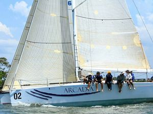 Arcadia chasing victory after last year's sail mishap