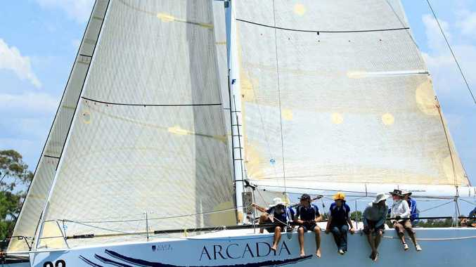 SETTING SAIL: Arcadia's Tim McCall will have his yacht racing at full potential in this year's Brisbane to Gladstone Yacht Race, unlike last year when the vessel was without a spinnaker.