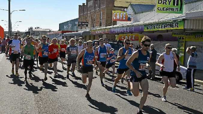The Warwick Pentath-Run, pictured in progress last year, is set to draw a big crowd again in its 12th year, with more numbers already signed up than in previous years.